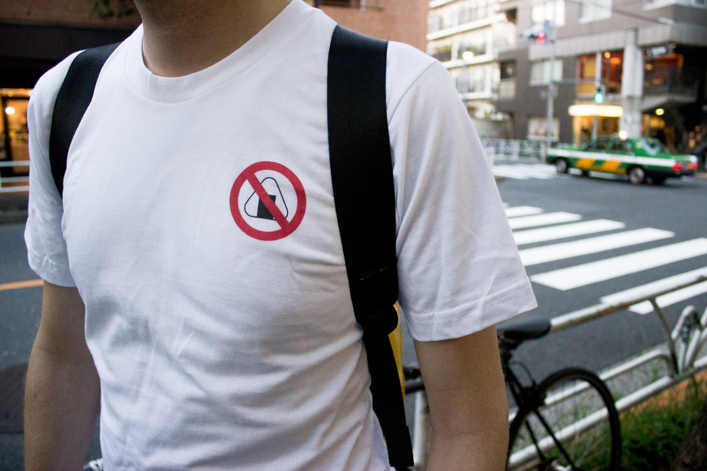 Tokyo Signs™ - Products inspired by the streets of Tokyo - Onigiri Busters T-shirt