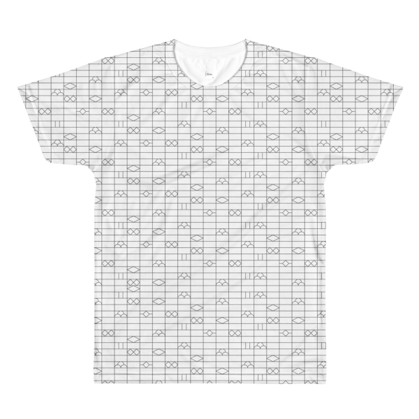 Japanese Brick Wall - All-over printed Tshirt