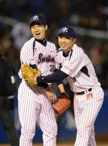It wasn't easy, but Yamamoto and the Swallows found another way to win.