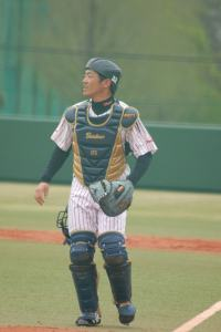 Miwa catching at Toda