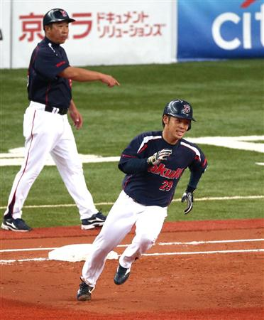 Ogawa even helped his own cause with a double in the third, but the rest of his teammates weren't doing much to back him up today.