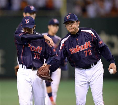Yagi left the mound midway through the sixth on his way to earning his league leading 13th loss.