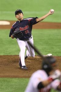 'Nori allowed only one run over eight very solid innings.