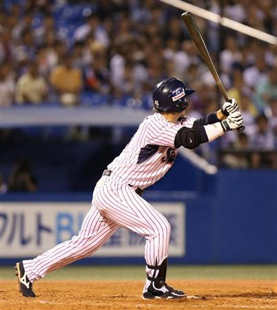 Yuhei launched his first career grandslam.