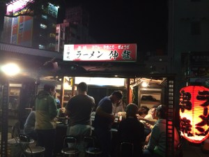 A Swallows friendly yatai.