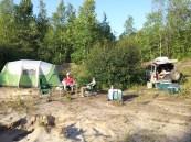 The morale was fair as we finally reached lake Baikal