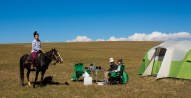 Visiting Cowboy, Kyrgyzstan