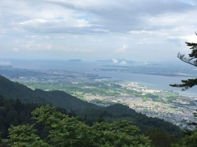 View from Mt Hiei
