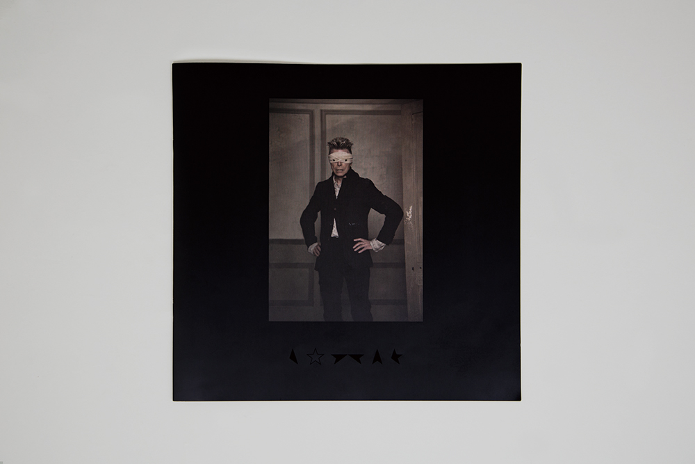 Jonathan Barnbrook|David Bowie Blackstar Cover Design