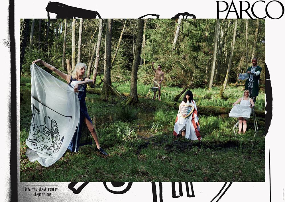 M/M(Paris)|Parco Campaign AW16, SS17 (Poster+Film)