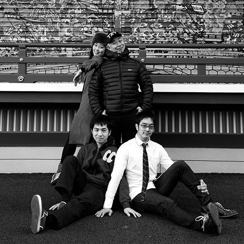 伊藤ガビン + いすたえこ + 林 洋介 + 宮本拓馬