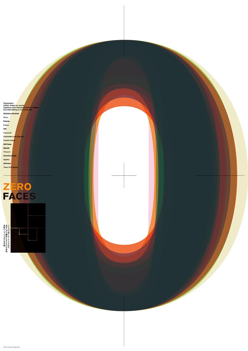 Zero Faces / 2016 | Poster