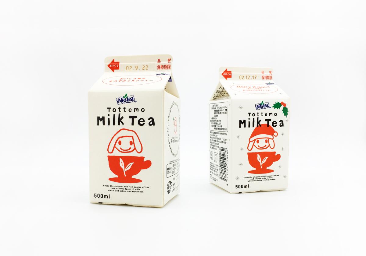 Tottemo Tea Series_Nestle / 2002 | Package