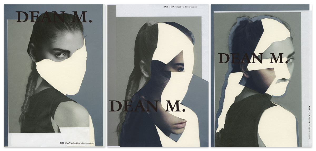 [Deconstruction] DEAN M. 2014-15 AW Collectionadvertising / 2014 | キービジュアル