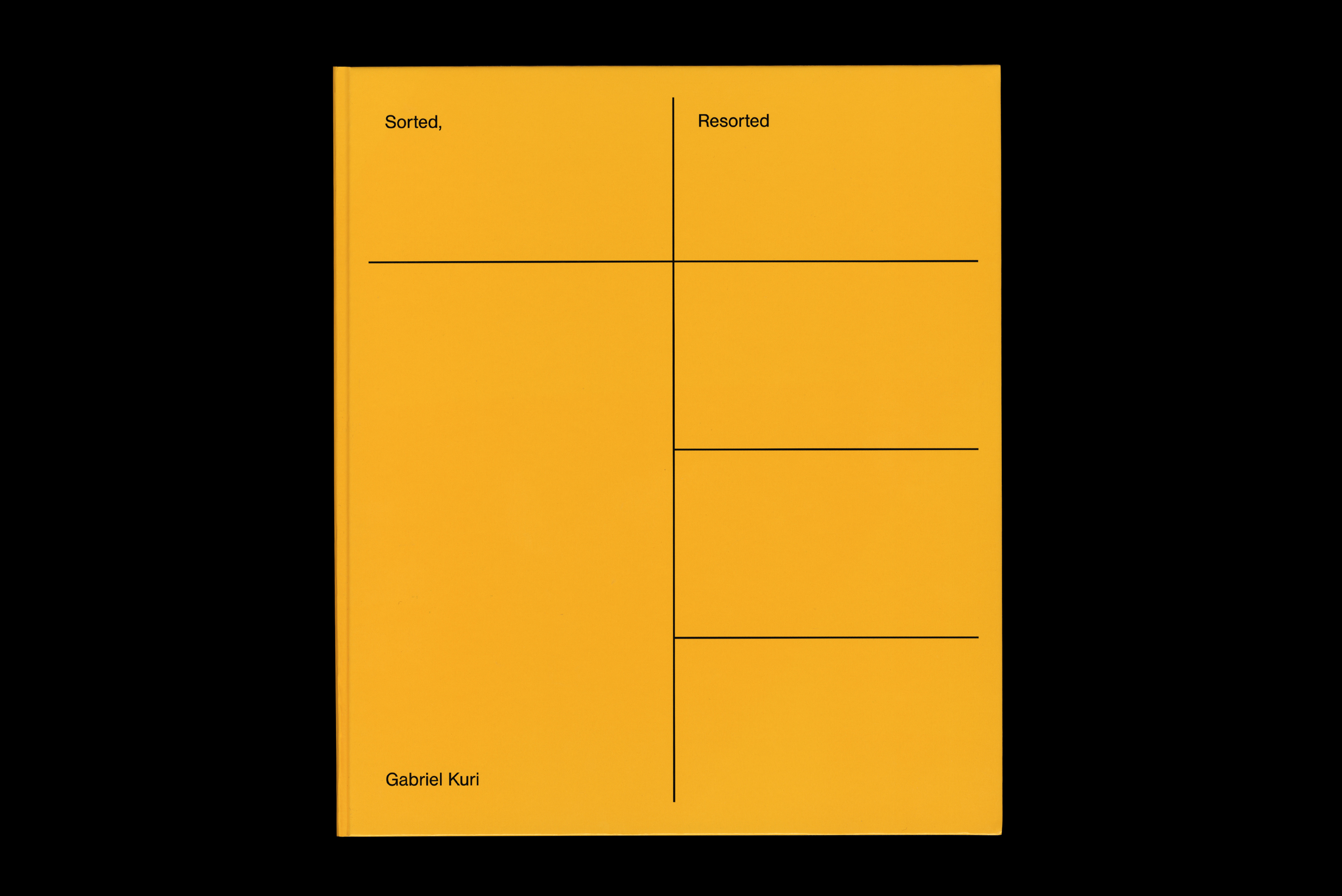 OK-RM (Oliver Knight and Rory McGrath)|Gabriel Kuri: Sorted, Resorted