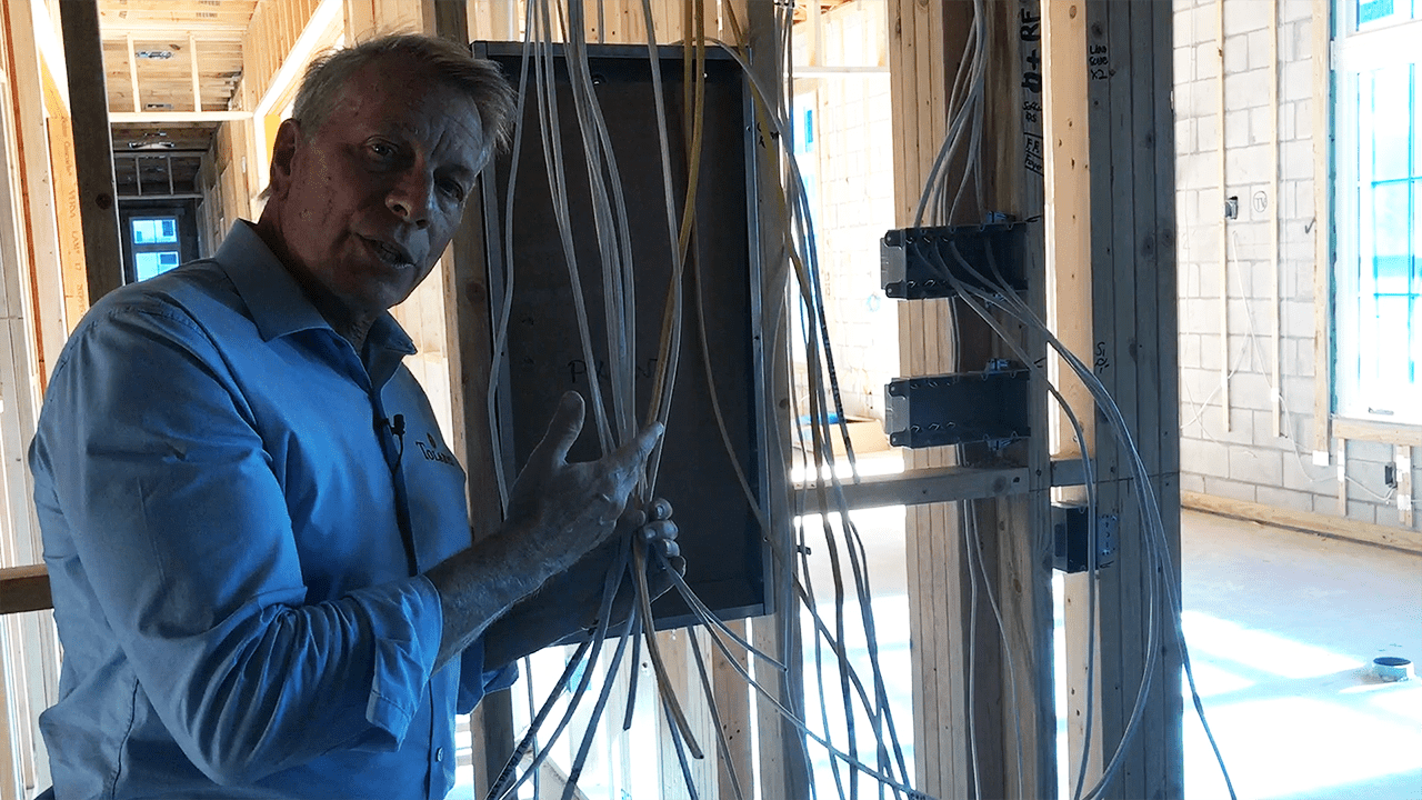 Rough In Of Electrical Wiring