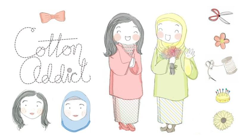 Cotton Addict Logo & Illustration--