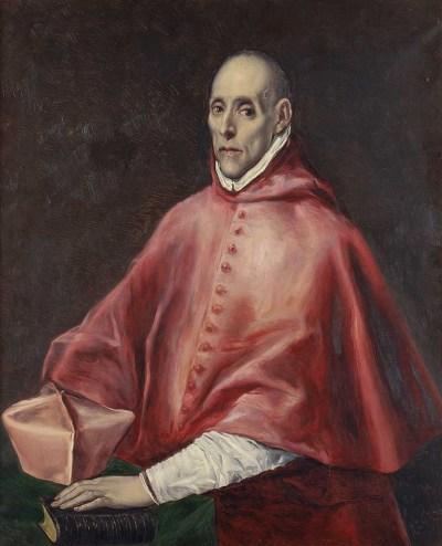 Cuadro del Cardenal Tavera El Greco