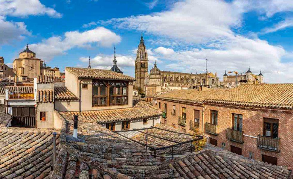 Hotel con vistas en Toledo