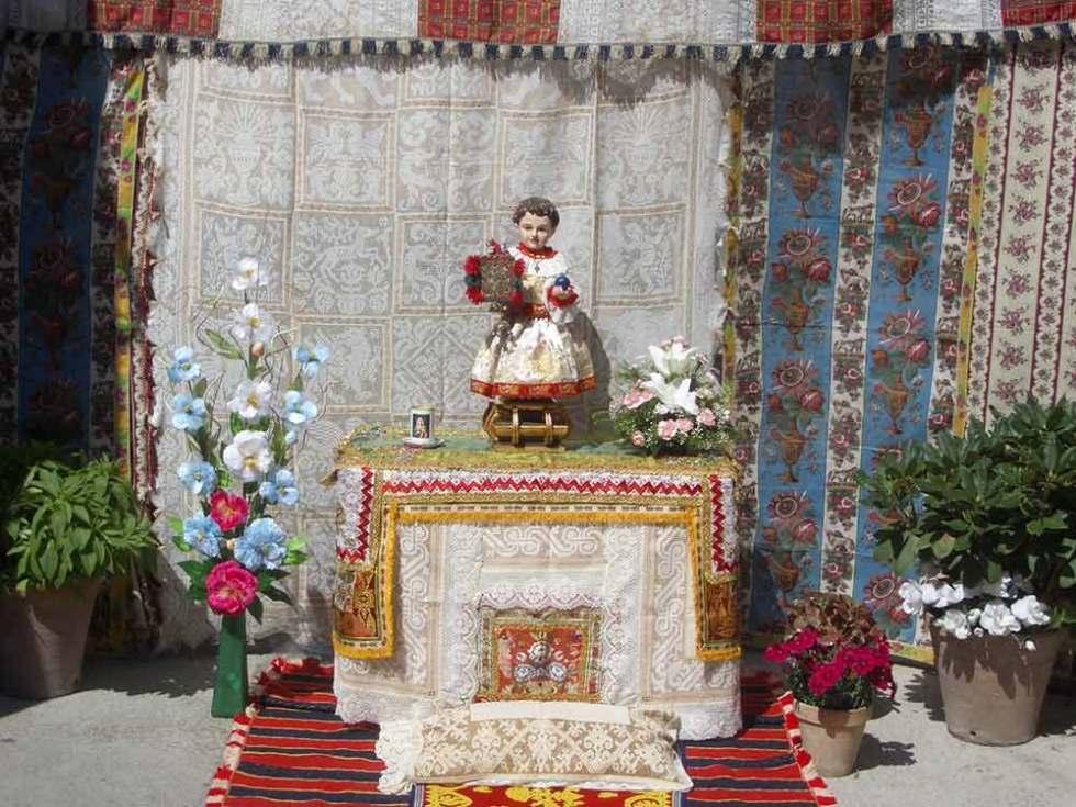 Altar Corpus Christi de Lagartera