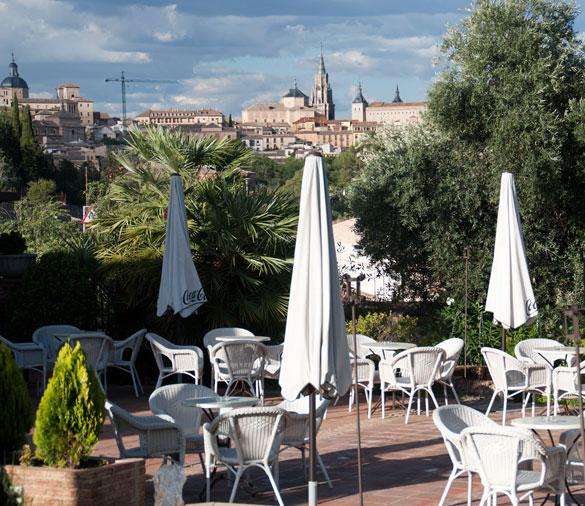 Terraza en Toledo - Cigarral de Caravantes