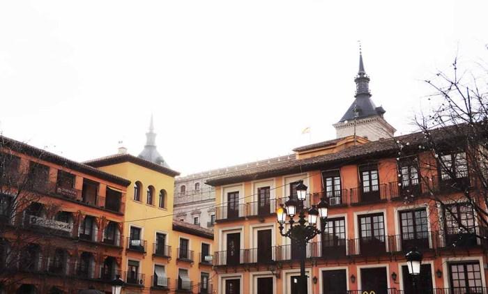 Plaza de Zocodover en Toledo