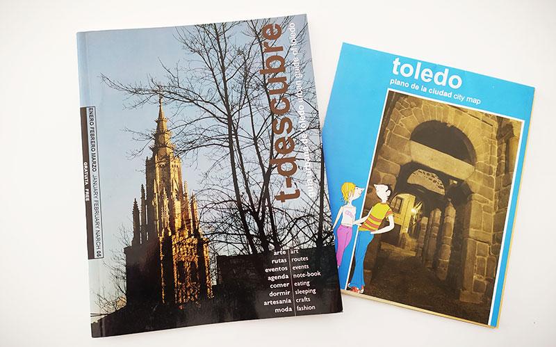 t-descubre Toledo número 1 2005 con plano