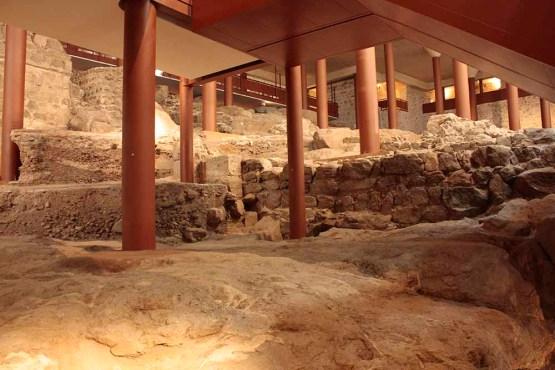 Restos arqueológicos del Alcázar de Toledo