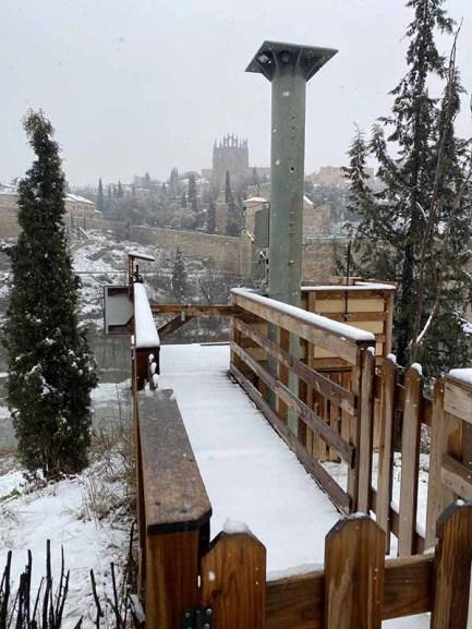 San Juan de los Reyes Toledo Nevado