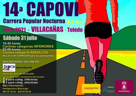 Carrera Popular Nocturnas Villacañas