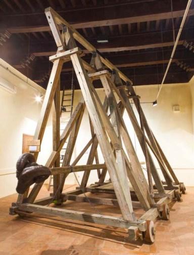 Exposición Catapultas y Maquinas de Asedio en Toledo