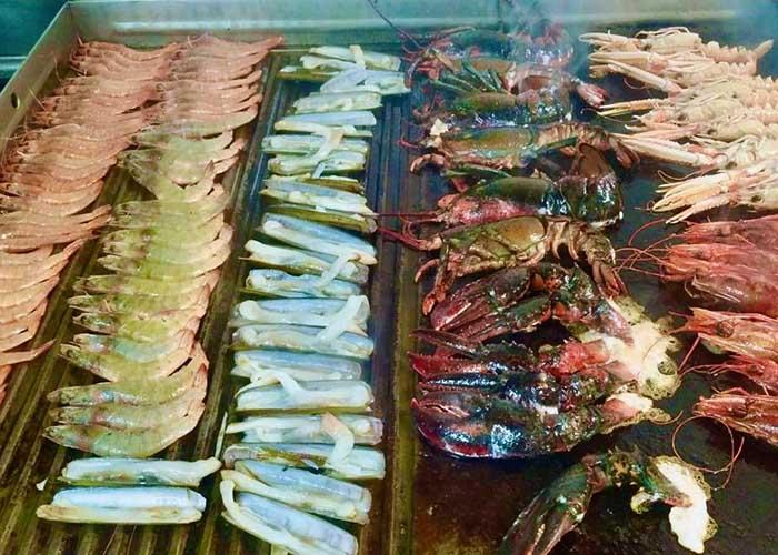 comer marisco en Toledo