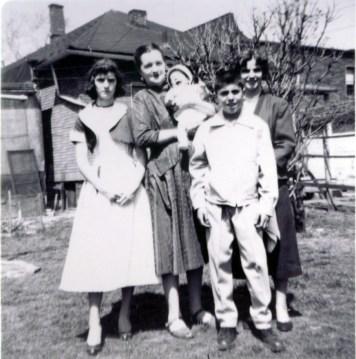 Betty, Gloria, Paul, Katie George