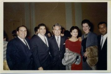 George and Betty with Friends