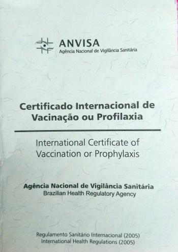 Como emitir a Carteira de Vacinação Internacional online