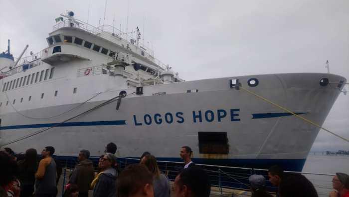 Logos Hope, o navio biblioteca