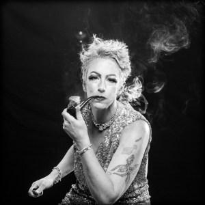 Alice smoking