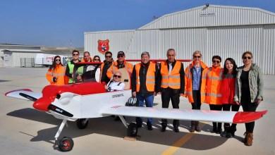 Photo of TC-UHE kit uçak ilk uçuşunu Sivrihisar'da yaptı