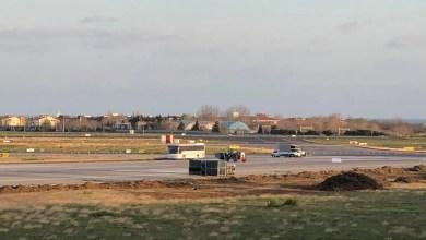 Photo of Atatürk Havalimanı pist kenarında hafriyat