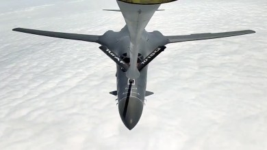 Photo of Amerikan B-1B'lerine yakıt ikmali yaptık