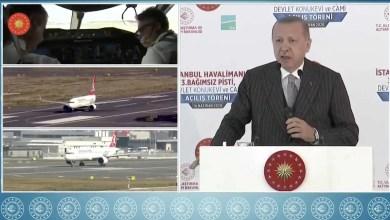 Photo of 3 uçak İstanbul Havalimanı'ndan aynı anda havalandı