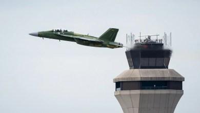Photo of İlk F/A-18 Blok III Super Hornet'ler uçuş testi için ABD Donanmasında