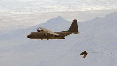 Photo of C-130'dan bombardıman görevi