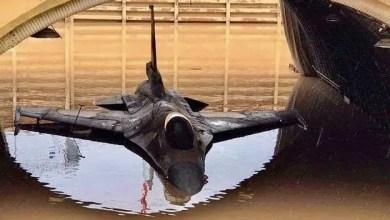 Photo of Sulara gömülen F-16'lar yeniden uçtu