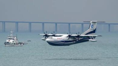 Photo of Dünyanın en büyük amfibik uçağı AG600