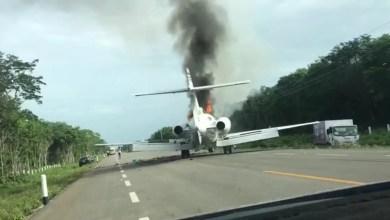 Photo of Uyuşturucu taşıyan jeti helikopter vurdu