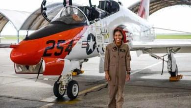 Photo of ABD'nin ilk kadın siyahi  pilotu