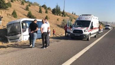 Photo of ASELSAN servisi kaza yaptı, 1 ölü, 8 yaralı