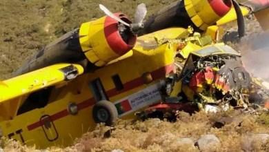 Photo of Portekiz'de yangın söndürme uçağı düştü