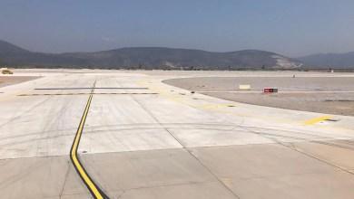 Photo of Milas Bodrum Havalimanı'nda pist bakımı tamamlandı